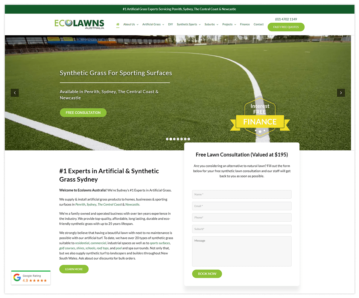 The Solution Ecolawns Australia Image
