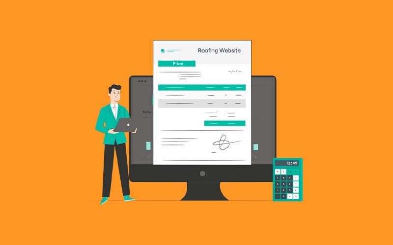 How Much Does a Roofing Website Cost in 2021